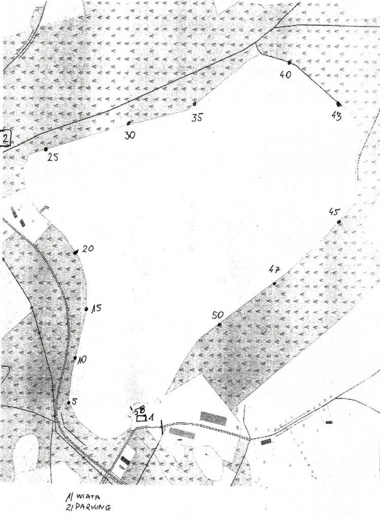 Mapa stanowisk na Przyjezierzu