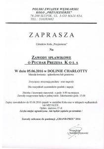 zawody spławikowe Dolina Charlotty czerwiec 2016
